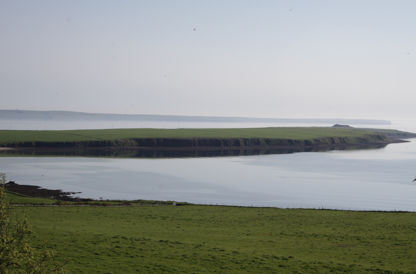 One of the views from Berstane House, Orkney