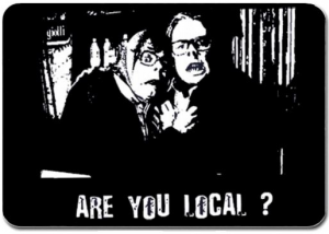Are you local? The league of Gentlemen mousemat
